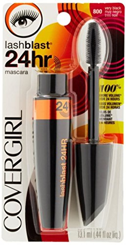 5a8678cb935 CoverGirl Lashblast 24 Hour Mascara, Very Black 800, 0.44 Fluid Ounce
