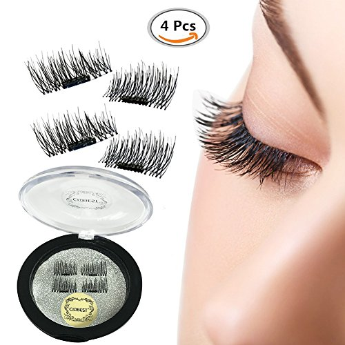 5d5646d6a84 You can use eyelashes wet tissue to clean this, but do not wash this  directly. Perfect for everyday wear. Magnetic false lashes are  Ultra-Lightweight.