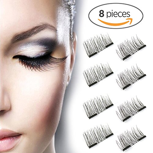 1331d19f117 Gently handle magnetic lashes when applying or removing the lashes. Care  instructions: Store them in a case when not in use. Importent:the magnetic  false ...