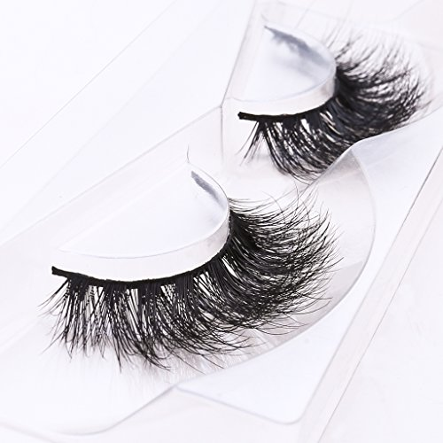 09c58ecabee Arimika Long Thick Dramatic Look Handmade Reusable 3D Mink False Eyelashes  For Makeup 1 Pair Pack