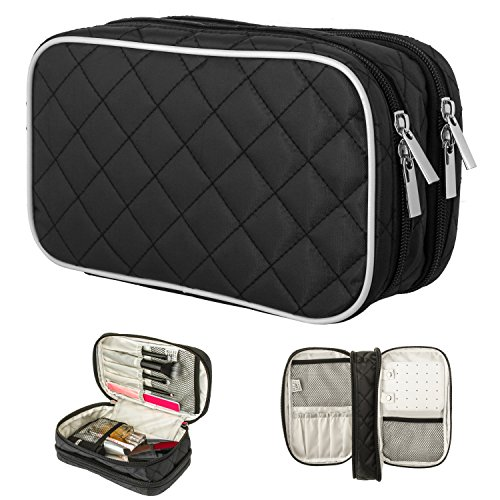Makeup Amp Jewelry Travel Bag Ellis James Designs Double