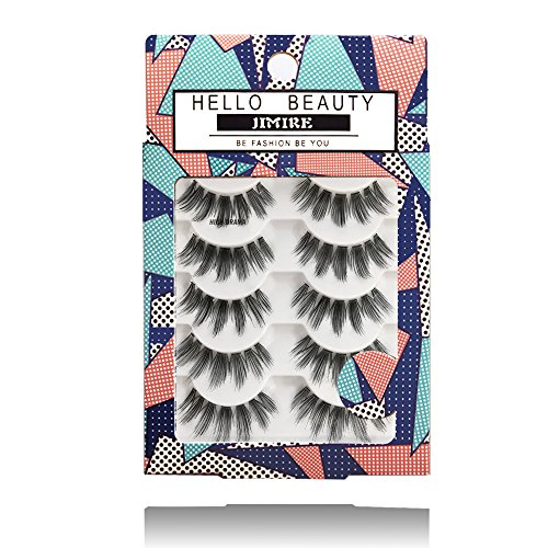 afe4ae4250e JIMIRE HELLO BEAUTY Multipack High Drama 615 Eyelashes. Allow the glue to  dry for a Moment Before Applying It to Your Lashes. Step 3: place the strip  on ...