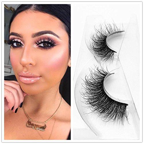 76f265866b9 Mink 3D Lashes Dramatic Makeup High Quality Strip Eyelashes 100% Siberian  Fur Fake Eyelashes Hand-made False Eyelashes 1 Pair Package Miss Kiss 3D04