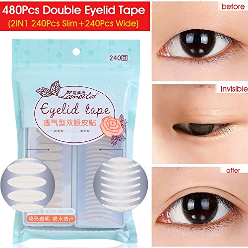 Invisible Beauty Double Eyelid Tape Stickers Instant Eyelid