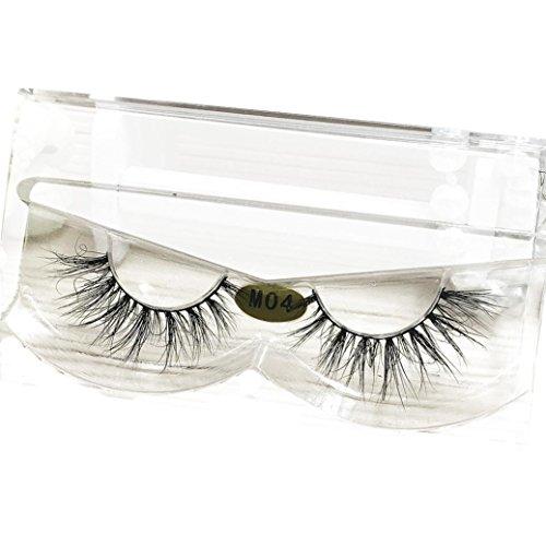Arimika Handmade Faux Mink 3D Fake Eyelashes 2 Pair Pack
