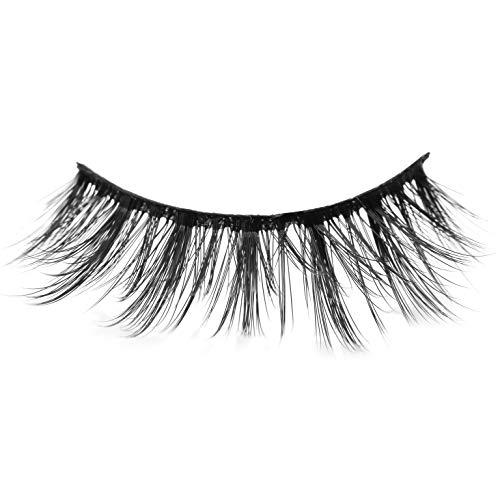 a67a62563cc Arimika Handmade Faux Mink 3D Fake Eyelashes 2 Pair Pack-Reusable With  Sturdy Flexible Band,Lightweight, Natural Lash