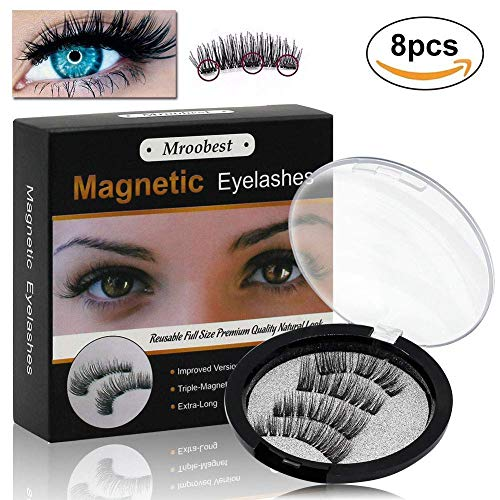 55ee9701b1c Always remember to store the magnetic eyelashes in the case when not in  use. Gently slide the 2 magnetic eyelashes apart from each different with  your index ...