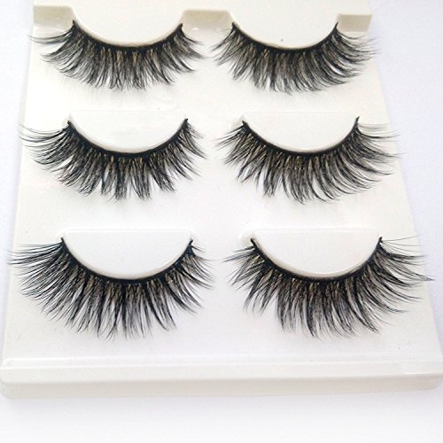 ffa92b59a6f Innovative 3d mink false eyelashes are made to provide you with  long-lasting effect and can be reused over 30 times without losing any  charm.